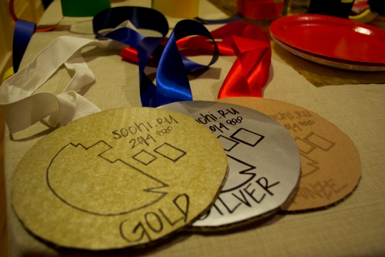 homemade medals