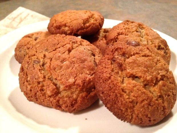 gluten free, almond flour cookies!