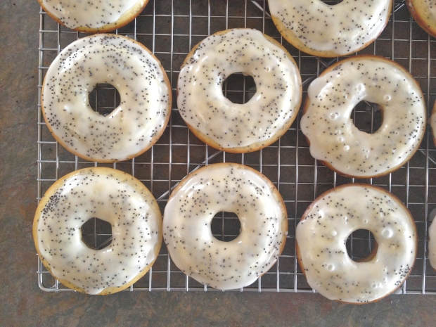 sprinkle with poppy seeds or decoration of choice!