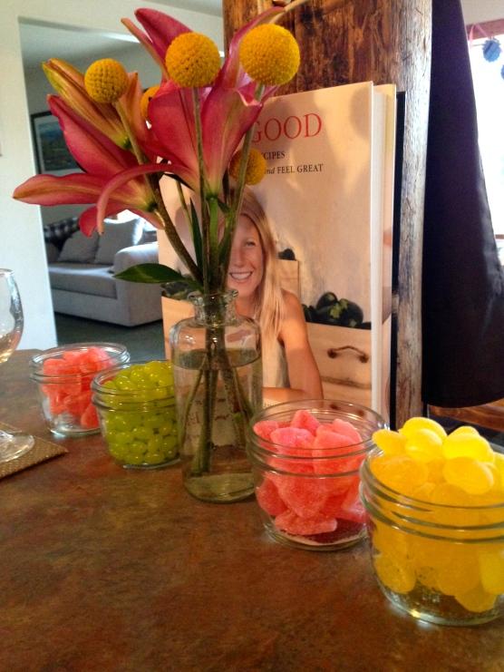 yummy, vibrant candy. sorry, gwyneth haters