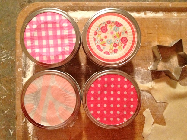sweet pink cupcake liners create the finishing touch!