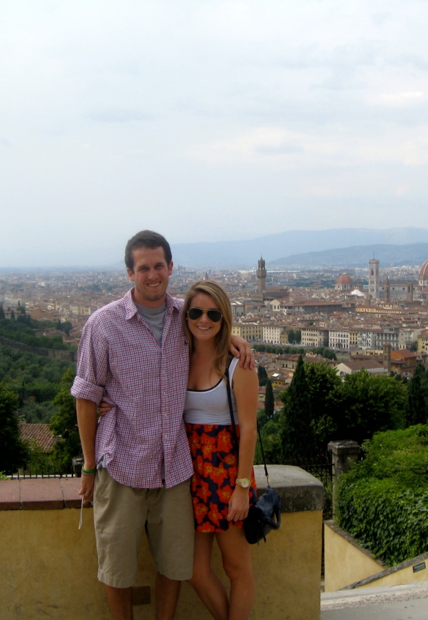 four years ago in Florence