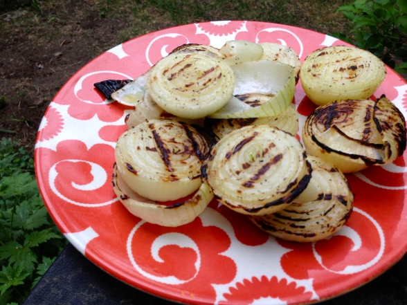 grilled sweet  maui onions