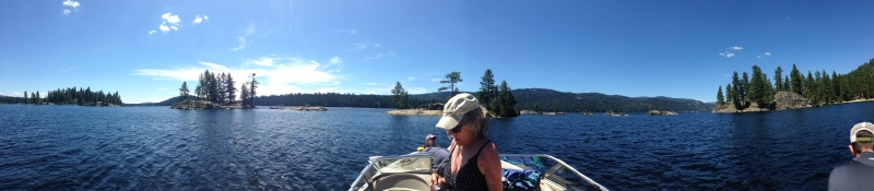 "the ""islands"" on Payette Lake in McCall"
