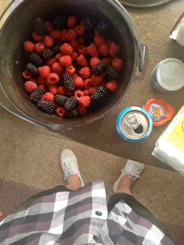 berries & pellegrino