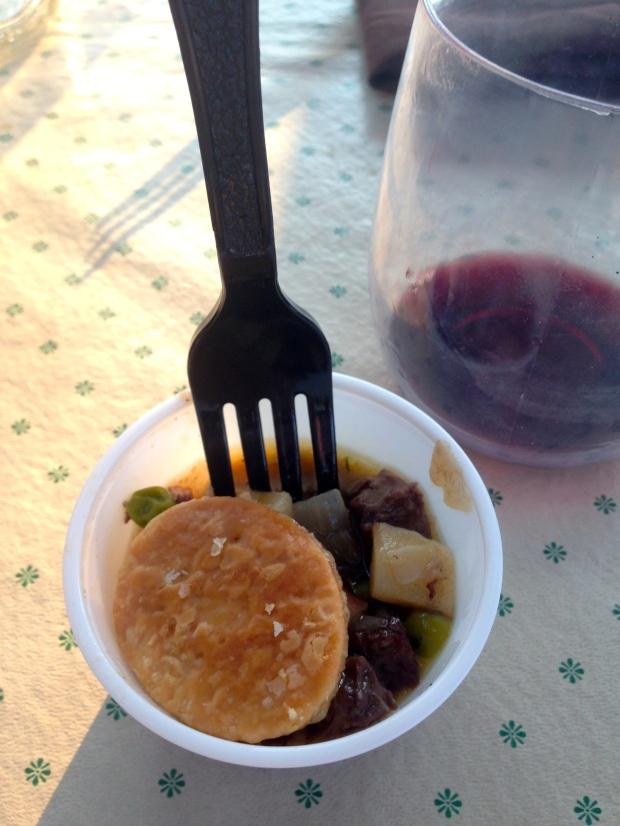 yummy beef pot pie