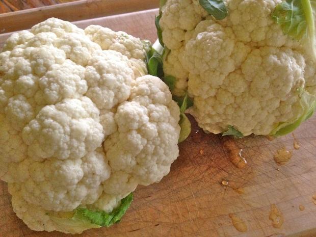 crispy cauliflower heads