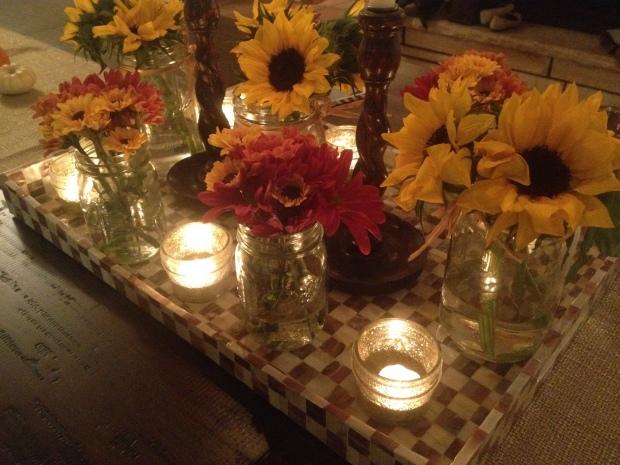 pretty autumn table