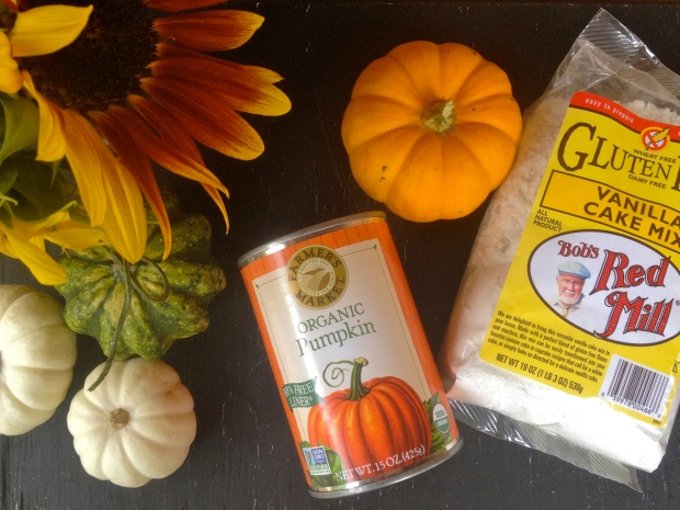 ingredients + festive fall decorations (basic white girl approved)