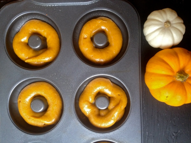 filled donut molds pre-baking