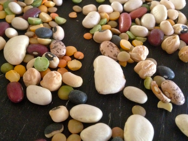 natural pre-soaked beans