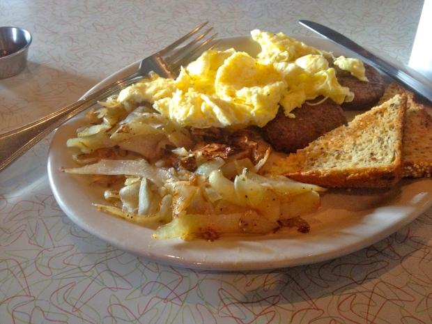 "my ""classic breakfast"""