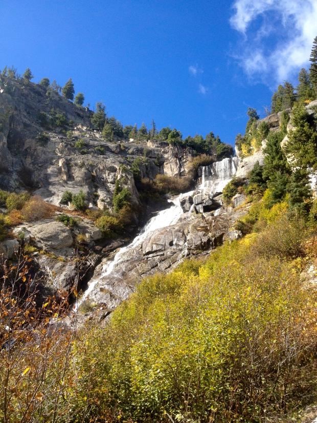 goat lake waterfall