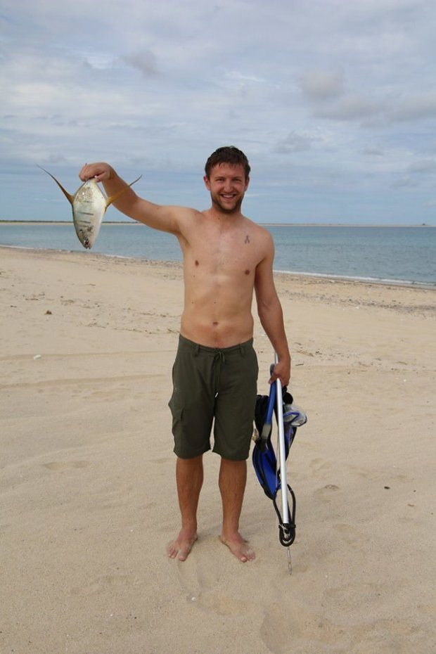 Taggart with some pompano