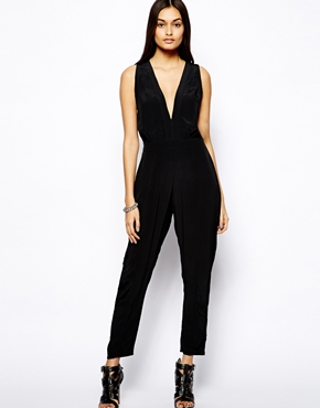"asos ""motel pia jumpsuit with plunge neck"" - i think i purchased the last one in stock but cant wait for this to arrive in the mail! it was an incredible deal too!"