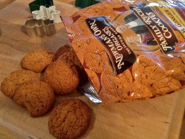 newman's own gingersnaps (gluten free)