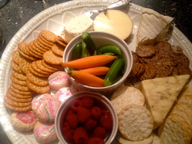 incredible cheese plate by anna