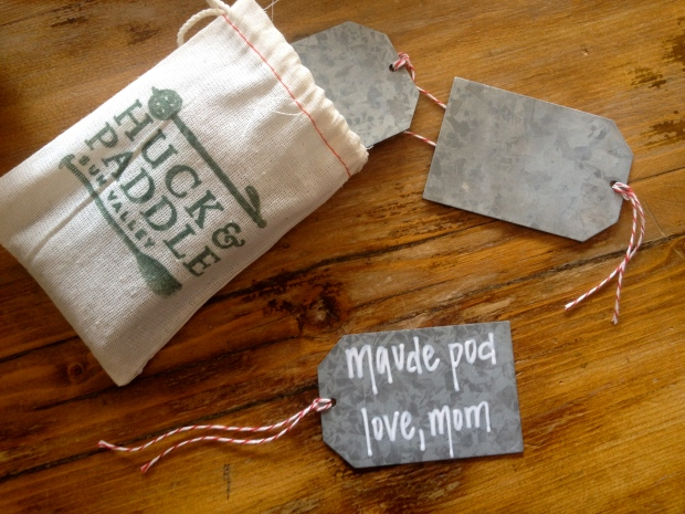 reusable tags - perfect for name tags or gifts!