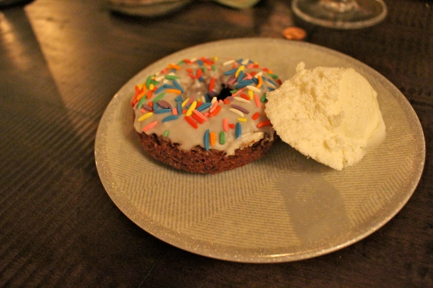 delicious rainbow donuts by Taylor