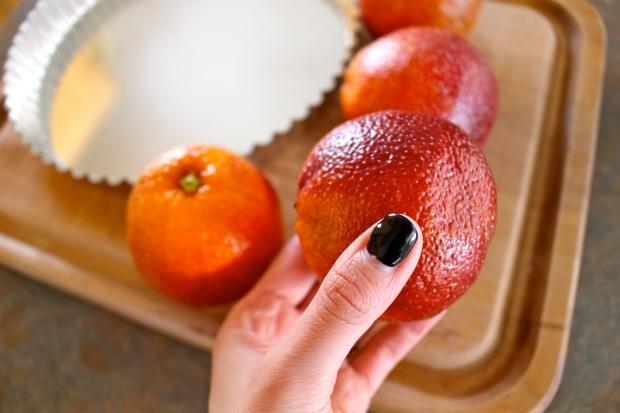 beautiful blood orange