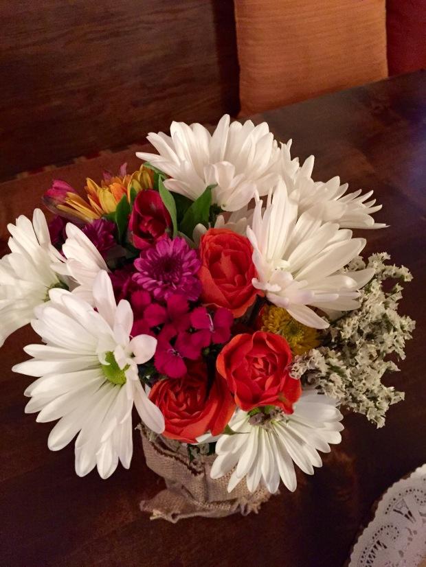 pretty flowers for a pretty lady