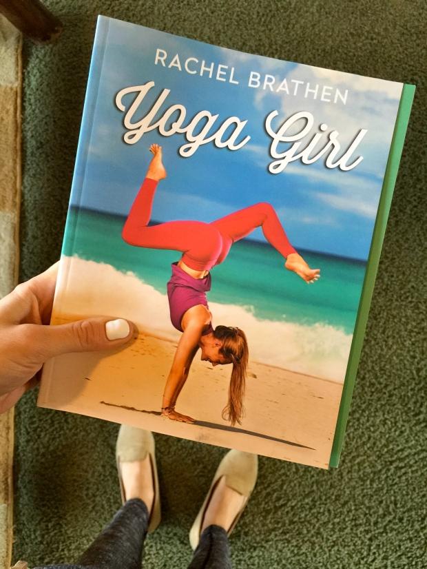 yoga girl by rachel braken