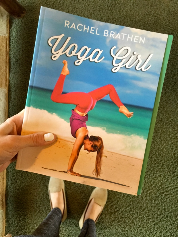 yoga girl by rachel braken