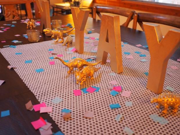 hand-cut tissue paper confetti
