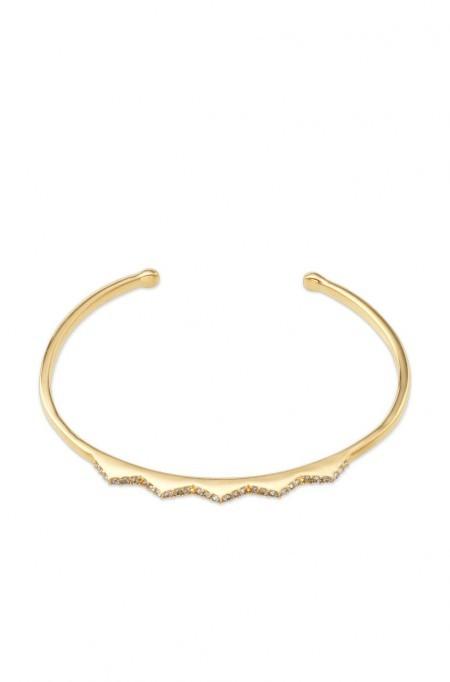 chevron cuff bracelet