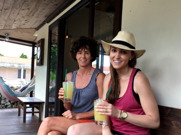 refreshing afternoon drinks in taketomi