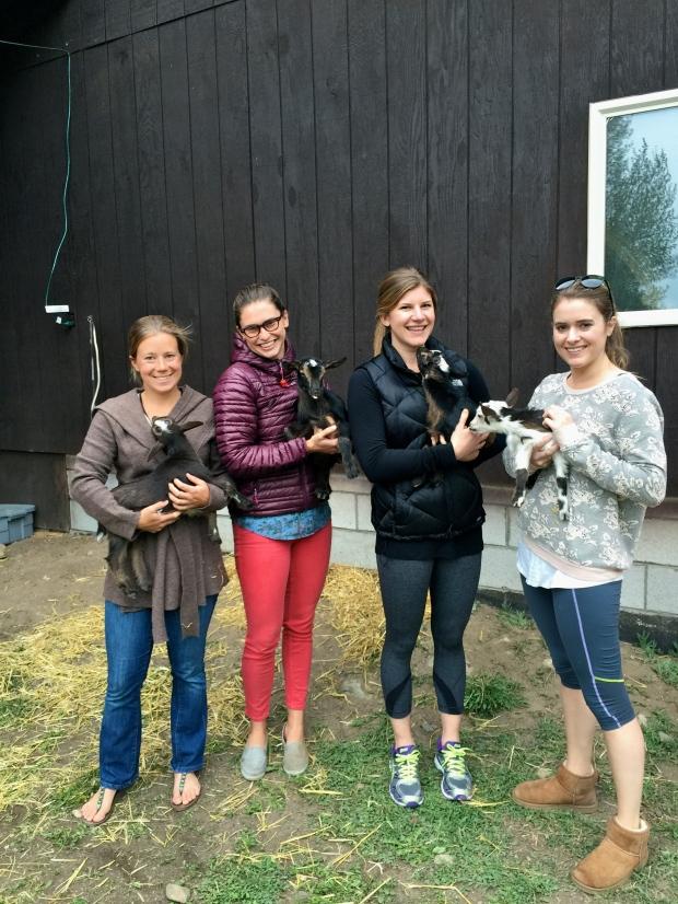 girls love goats