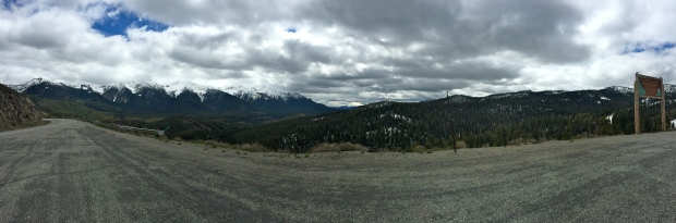 view from galena pass