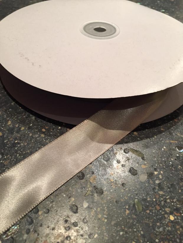 large spool of ribbon