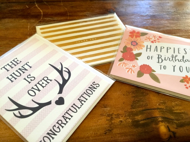 how adorable is the antler card?!