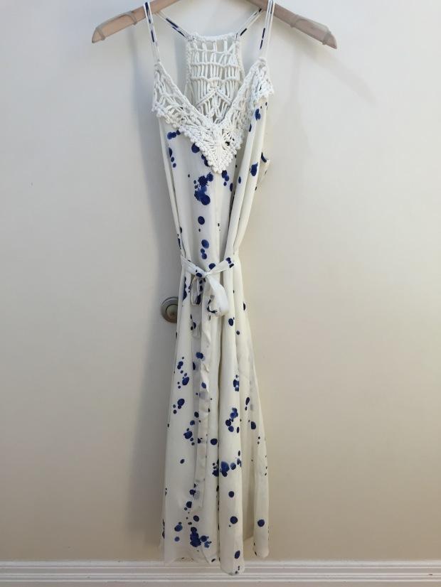 inkblot midi dress from anthropologie