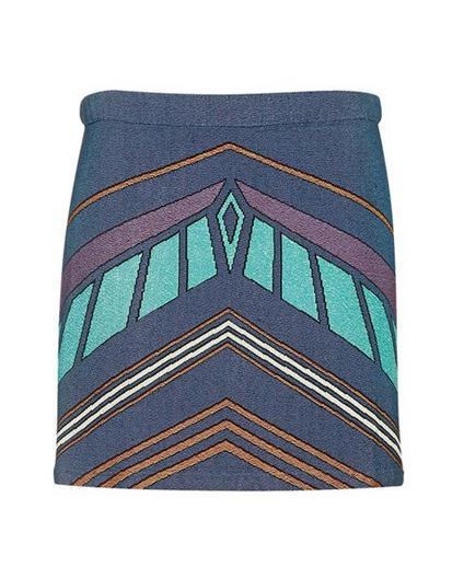 trop shop chevron skirt, now on sale online!