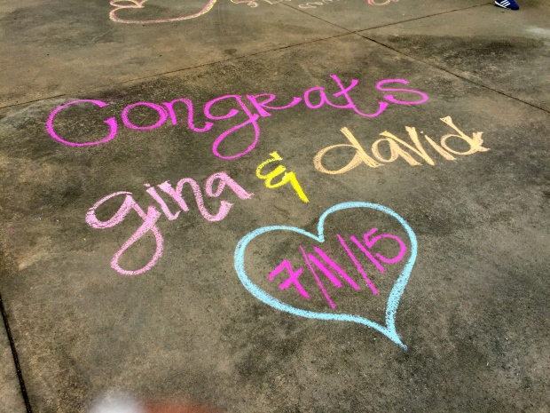 i stole some chalk from some kiddies and got creative