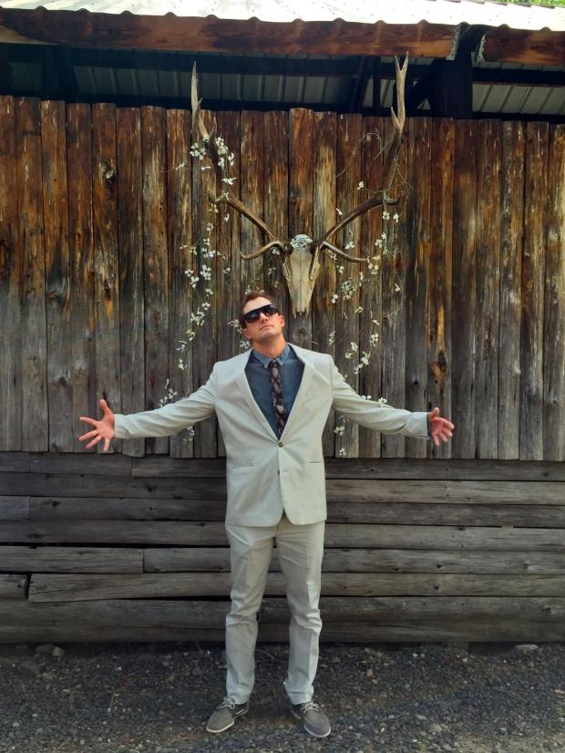 the boy, his camo tie and the future of randolph