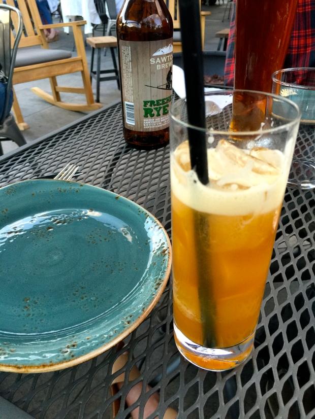 the best cocktail (the London Lemonade)