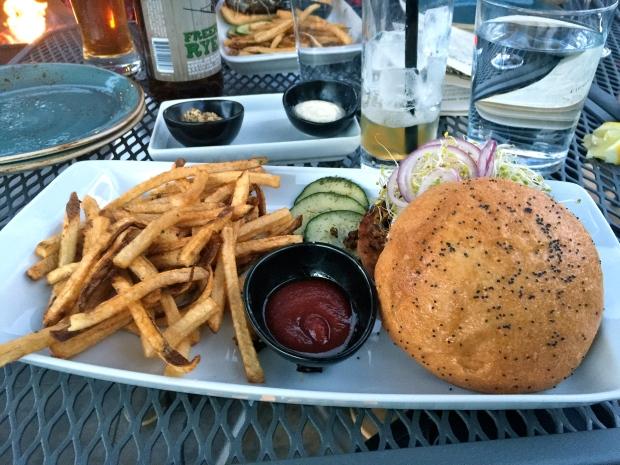 the veg burger