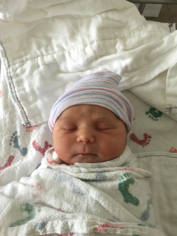 baby girl Makena Wigell