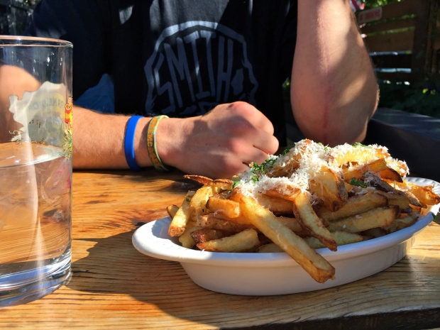truffle fries - so delicious!