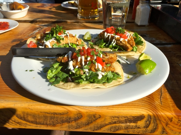 oat buger tacos! such a great concept!
