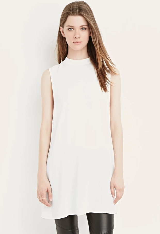 side-cutout shift dress