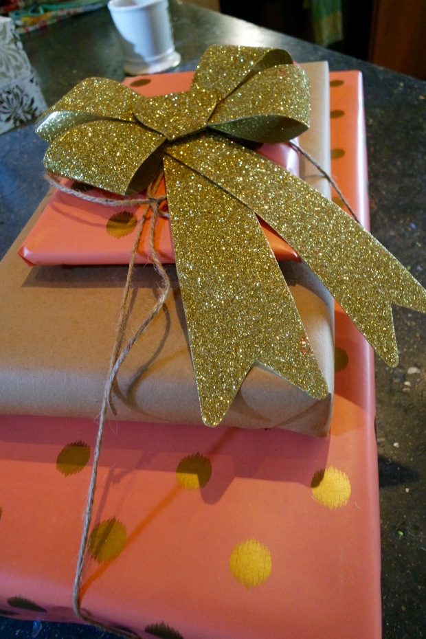 pretty present wrapping