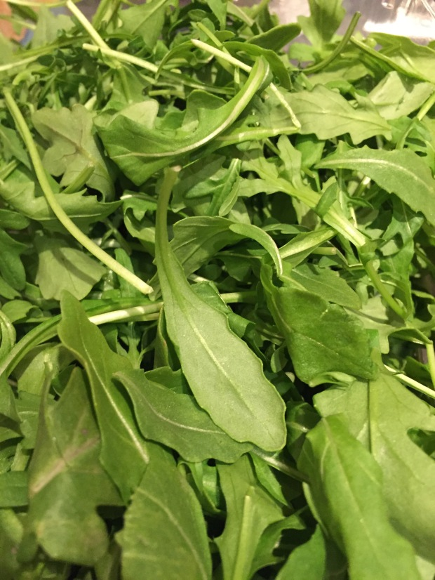 fresh triple washed arugula