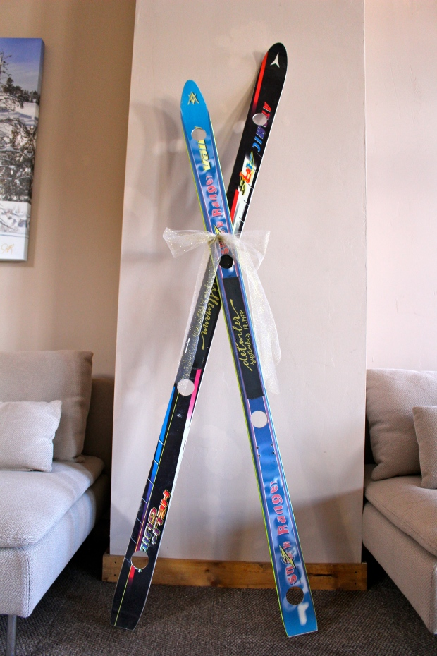 custom shot skis