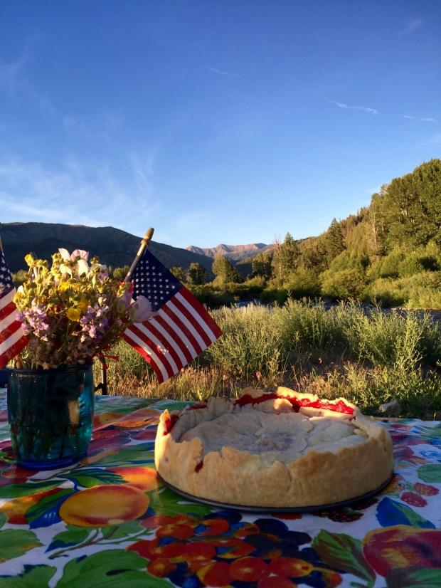 patriotic pie!