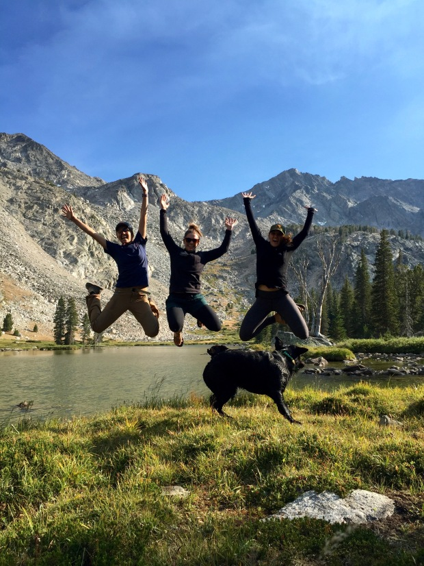 obvi, no adventure is complete without a jumping photo